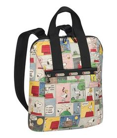 Everyday Backpack - Snoopy Patchwork