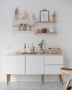my scandinavian home: white and wood storage in a Finnish home.
