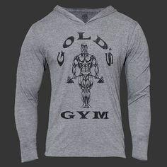 Golds Gyms Bodybuilding Sweatshirt Thrasher Hoodies for Men in Ripndip Cotton