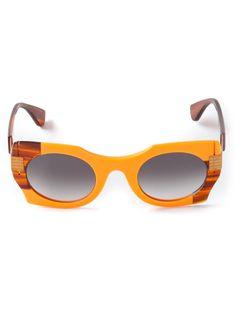 720449f392a THEO BY TIM VAN STEENBERGEN cat eye sunglasses on Vein - getvein.com Cat Eye