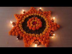 Rangoli Designs Flower, Rangoli Patterns, Colorful Rangoli Designs, Rangoli Ideas, Rangoli Designs Diwali, Rangoli Designs Images, Flower Rangoli, Easy Rangoli, Diwali Decoration Items