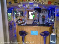 The Three Lions, Pub/Entertainment from Shrewsbury owned by Jamie Pearce Diy Garden Bar, Shed Of The Year, Bar Shed, Pub Sheds, Bars For Home, Entertainment Center, Man Cave, Liquor Cabinet, Dekoration