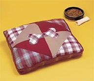 Dog bed-crafting for your pet