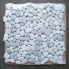 Lagos Azul Mix River Rocks Pebble Stone Mosaic Tile Tumbled
