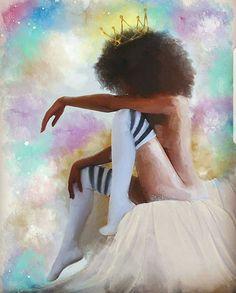 Black is Beautiful: Photo Sexy Black Art, Black Love Art, Black Girl Art, Black Is Beautiful, Art Girl, Black Artwork, Cool Artwork, African American Art, African Art