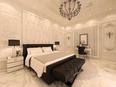 interior designer Portfolio by Ziad Altahawi, via Behance