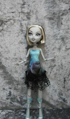 Out of this world dress for monster high dolls by moonsight68, $9.50