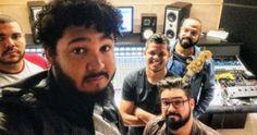 Israel divulga imagens dos bastidores da produção musical do seu novo CD