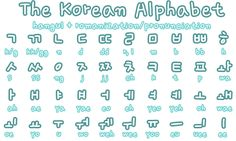 Image discovered by Find images and videos about korean, alphabet and hangul on We Heart It - the app to get lost in what you love. Korean Words Learning, Korean Language Learning, Learn A New Language, Chinese Language, Spanish Language, Learn To Speak Korean, Learn Korean Alphabet, Learn Hangul, Korean Writing