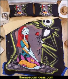 The Nightmare Before Christmas Duvet Covers