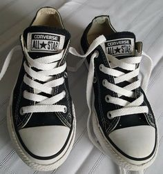 e8c6c33a7aac6e Converse All-Star Youth Black Shoes Size 13 Sneakers boys girls  fashion   clothing