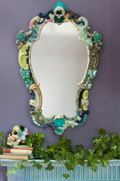 The Netherfield Looking Glass - Handmade Mirror Rockett St George, Handmade Mirrors, Kitchen Art, Mirror Mirror, Glass, Furniture, Wall, Home Decor, Decoration Home