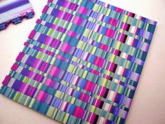 Debbie Crothers: ...and what else can I do with my scrappy stripe veneer????