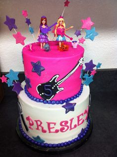 barbie princess and the popstar birthday party - Google Search
