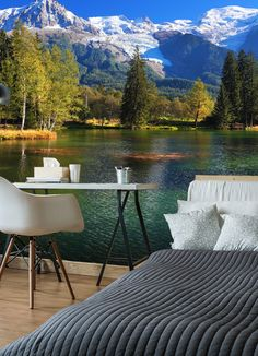 Enter code 'BLACKFRIDAY' at the checkout to get 20% off all wallpaper. Bring the great outdoors, indoors with a stunning made-to-measure wallpaper mural. Available for order onto a choice of wallpaper, this landscape wallpaper is available at Wallsauce.com