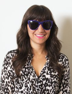 Pin for Later: Find the Perfect Sunglasses and Lipstick Match For Your Face