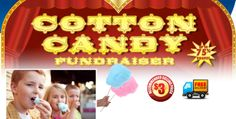 A great idea for your next school fundraiser is the ABC Fundraising Cotton Candy Fundraiser! Earn up to 75% Profit!  http://www.abcfundraising.com/cotton-candy-fundraiser.htm