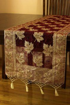 Elegant #silk #table Runner