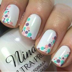 Easter Nail Designs, Cute Nail Art Designs, Gel Nail Designs, Nails Design, Stylish Nails, Trendy Nails, Nail Deco, Jolie Nail Art, Milky Nails
