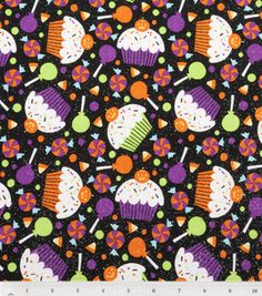 Halloween cupcake fabric!!