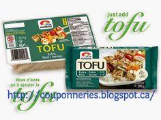 Coupons et Circulaires: 0,50$ sur Sunrise, Tofu