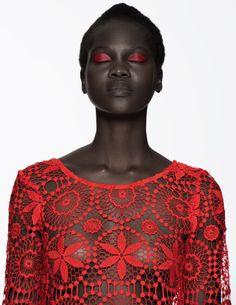 Atong Arjok Paul Jung Black Fashion Models