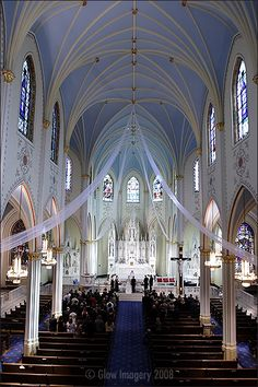 Our Lady of Perpetual Help Redemptorist Catholic Church, KCMO.  A drop-dead stunning place for a wedding!  Where my niece, Anna and her now husband Chris were married summer 2015.  (And I got to play the beautiful pipe organ).  What a thrill!