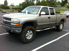 Gold 2002 Chevy Silverado 1500 4x4 Lifted Google Search