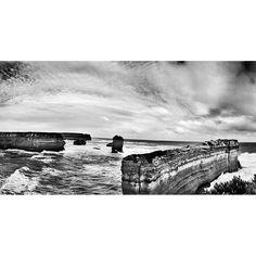 #rockbeach #12apostles #greatoceanroad #bw by achanali http://ift.tt/1ijk11S