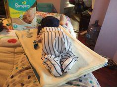 Bay diaper cake