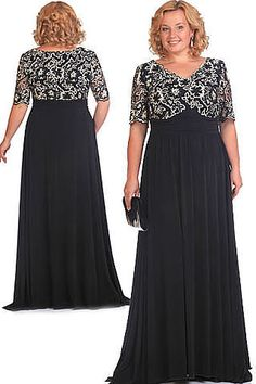 What gorgeous dress to wear to any formal event Plus Size Evening Gown, Plus Size Gowns, Evening Gowns, Elegant Dresses, Beautiful Dresses, Gorgeous Dress, African Fashion Dresses, Fashion Outfits, Big Size Dress