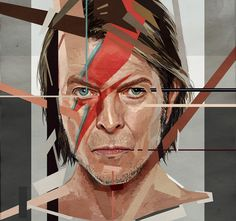 Bowie - astoralexander Deviant Art - Digital art - 2017 http://ift.tt/2gAUvH5
