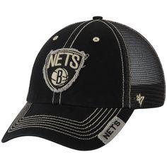 sports shoes 6d6b6 d2ef7 Men s Brooklyn Nets  47 Black Turner Clean Up Snapback Adjustable Hat,  Sale   9.99
