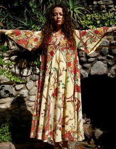 Stunning One of a Kind Vintage Indian Cotton di GoldDustDresses