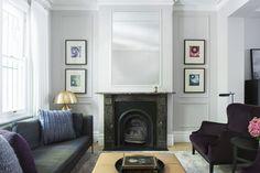 #tonkaandjelkovicdesign #tonkaandjelkovicdesignresidential #architecture #interiordesign #interiorstyling #luxury #living #fireplace #lamp #sofa #armchair #art