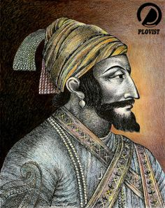 #Chatrapati #Shivaji #Maharaj by #Sudhirchalke  #sketch #painting For more artworks from the artist check out his #plovist profile: http://www.plovist.com/pins/user/sudhir.chalke.73