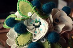 Homemade- Mothers- Day- Ideas - Spring -felt -craft -flower   _13