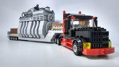 Lego Moc, Legos, Truck, Google, Lego, Trucks, Logos