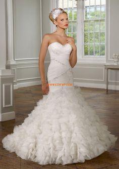 Kyrka Vinter Empire Bröllopsklänningar 2014