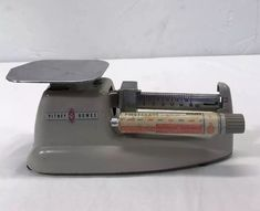 Pitney Bowes Postal Scale 16oz Balance Beam Accurate VTG Shipping Packing USA  | eBay