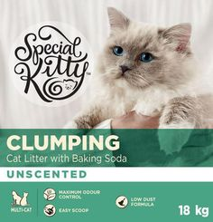SK Clump Litter W/BS - 18kg Litter Pets Best Cat Litter, Cat Life, Cool Cats, How To Know, Baking Soda, Cats And Kittens, Kitty, Pets, Kitten
