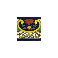 Talavera Tile ($1.83) ❤ liked on Polyvore