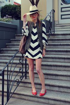 ~` chevron stripes `~