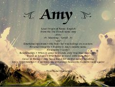 Amy Name Meaning