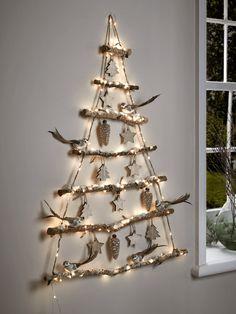 Znalezione obrazy dla zapytania christmas hanging branch