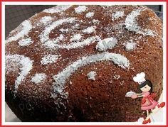 Bizcocho de chocolate y coco en olla gm. Diiiiiiooooooooooooos cómo está este bizcocho de bueno....!!!!!   Es la adaptación de uno de Ana Sevilla. Se me ocurrió echarle un yo...