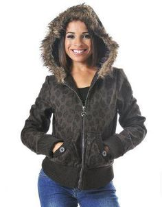 (CLICK IMAGE TWICE FOR DETAILS AND PRICING) Animal Print Hoodie Jacket Brown Leopard. Nothing cozier than a hoodie jacket for this upcoming fall_winter season. Wear yours with flat boots and jeans for a five minute outift.. See More Coats and Jackets at http://www.ourgreatshop.com/Coats-and-Jackets-C76.aspx