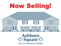We introduce you to our new luxury townhome community, Ashburn Square! Located near all of your favorite Tampa entertainment destinations.