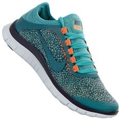 NIKE FREE 3.0 V5 EXT WOMEN LAUFSCHUHE IRON ORWD-DIFFUSED / http://ammazing.de/product/Nike-Laufschuhe-orwd-diffused-jade-medium-brown-at--B00HIQN3YY