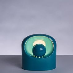 Ceramic Table Lamp by Marcello Cuneo for Gabbianelli image 3